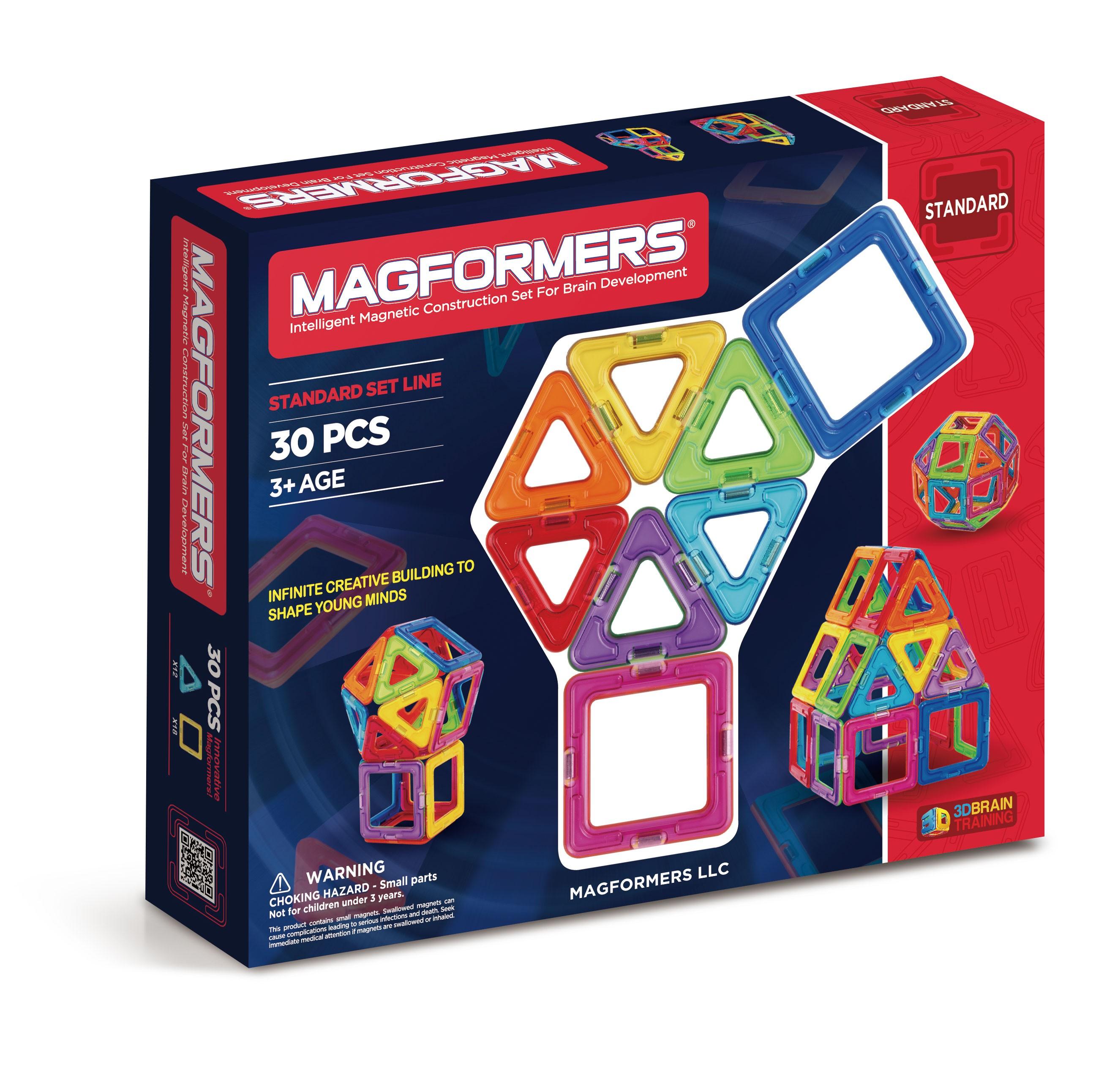 Magformers Rainbow 30 Pcs