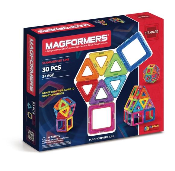 Magformers - Rainbow 30 Piece Set (3003)