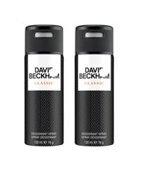 David Beckham - 2x Classic Deodorant Spray 150 ml