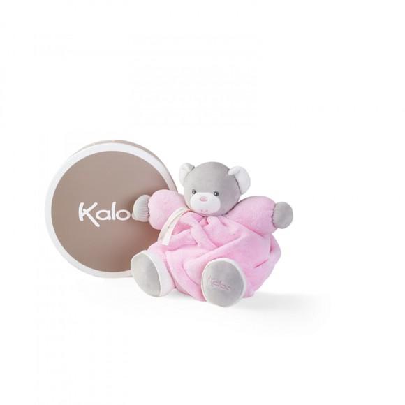 Kaloo - Plume -  Pink Chubby Bear, 25 cm