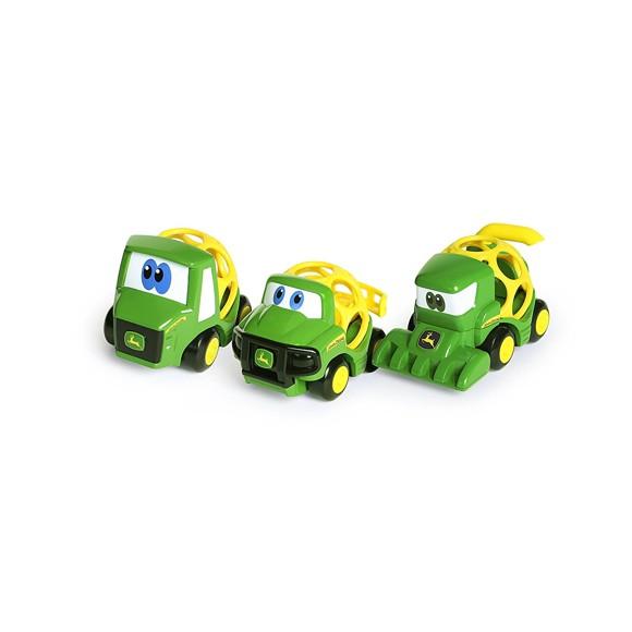 Oball - Go Grippers - John Deere Farm Vehicles, Pack of 3 (10591)