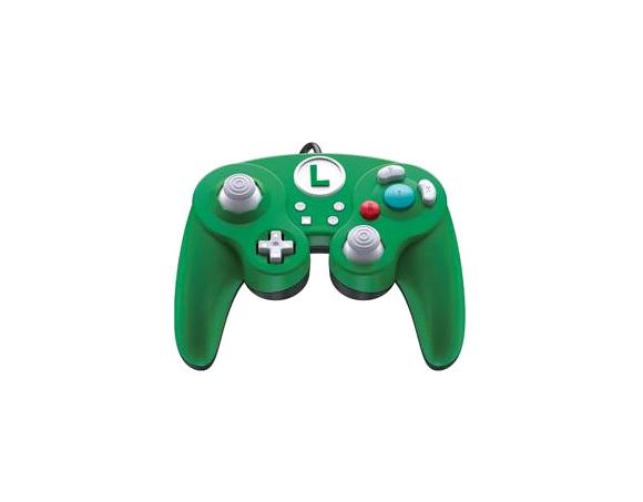 Switch Smash Pad Pro Luigi wired Controller