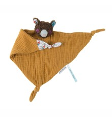 Moulin Roty - Comforter Muslin Bear (665009)