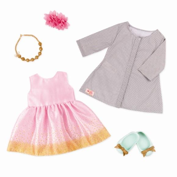 Our Generation - Dolls Clothing - Celebration Style Robe (730320)