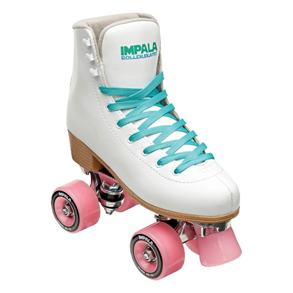 Impala - QUAD Rollerskate - White - (US 3 /EU 34)