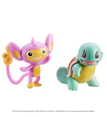 Pokemon - Figure Battle Pack - 5 cm - Aipom and Squirtle (95023)