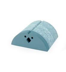 bObles Kip - Blauw marmer