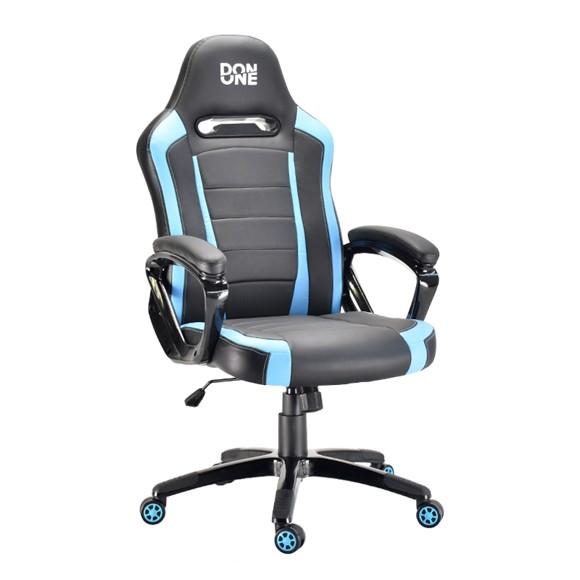 DON ONE - BELMONTE Gaming Chair - Svart/Blå