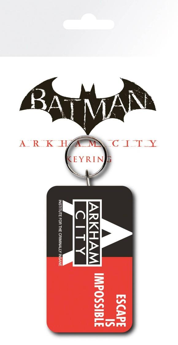 Batman Arkham City Escape Keyring