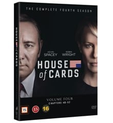 House Of Cards - Season 4 - DVD