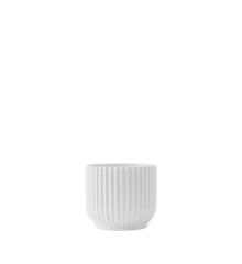 Lyngby Porcelæn - Flowerpot Ø 11,5 cm - Hvid