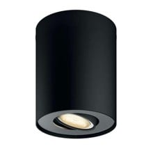 PHILIPS HUE - Pillar  ext. kit single spot black (without remote)