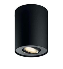 Philips Hue Pillar - Spot - Sort ( Uden remote )