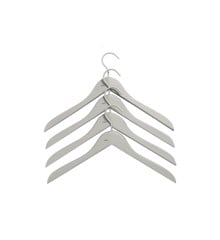 HAY - Soft Coat Hanger Slim Set of 4 - Grey (500079)