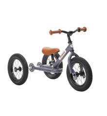 Trybike - Dreirad Steel Laufrad, Vintage grau
