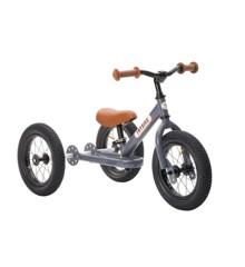 Trybike - Steel Balanscykel 3-Hjul, Vintage grå