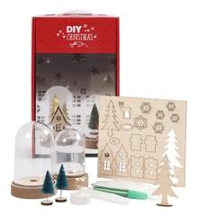 DIY Kit - Materialesæt til Klokker med Indvendig Pynt