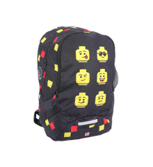 LEGO - School Backpack - Faces - Black (10048-2007)