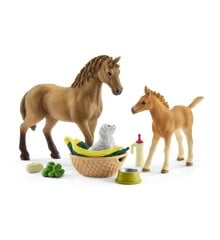 Schleich - Horse Club - Sarah's Baby Animal Care (42432)