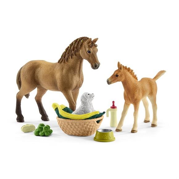 Schleich - Horse Club - Sarah's Baby Animal Care (42432)