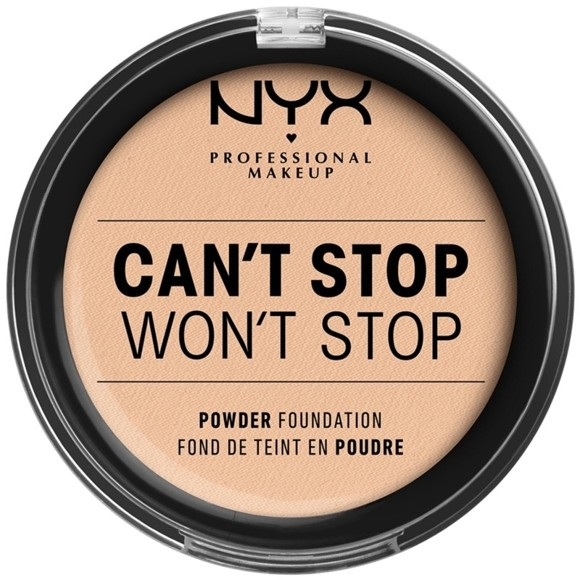 NYX Professional Makeup - Can't Stop Won't Stop Powder Foundation - Vanilla