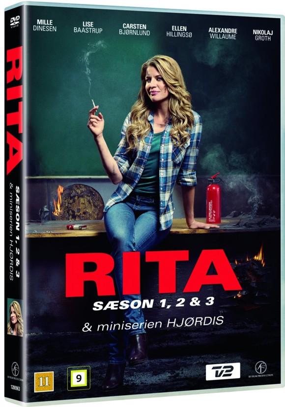 Rita - Season 1-3 + Hjørdis Mini-Serie - DVD
