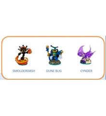 Skylanders Imaginators - Triple Pack - Smolderdash + Dunebug + Cynder