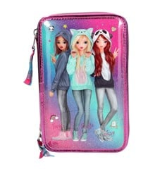 Top Model - Trippel Pencil Case Friends - Pink (0410148)