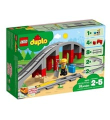 LEGO DUPLO - Trainbridge and Tracks - (10872)