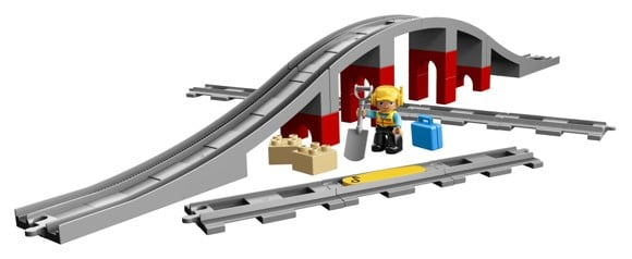LEGO Duplo - Trainbridge and Tracks - (10872)