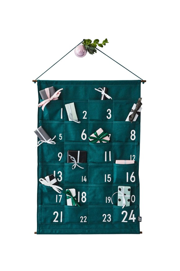 Design Letters - Christmas Calendar - Green (70202018GREEN)