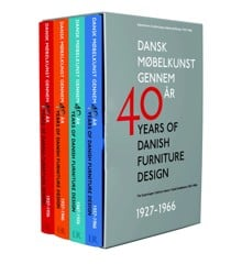 40 Years of Danish Furniture Design - Book