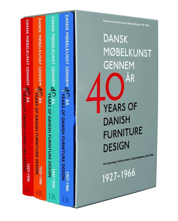 Dansk Møbelkunst Gennem 40 år - Bog