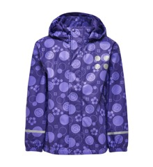 LEGO Wear - Rain Jacket Multi - Dark Purple