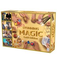 Stunning Magic - Tryllesæt med 150 magiske tricks - Guldversion