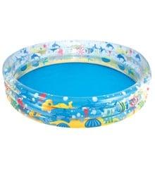 Bestway - Dybhavs 3-Rings Pool Φ1.52m x H30cm (45-1125687)