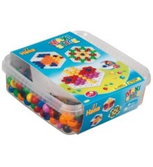 Hama Beads - Maxi sticks/pegs and pinboards in box (9640)
