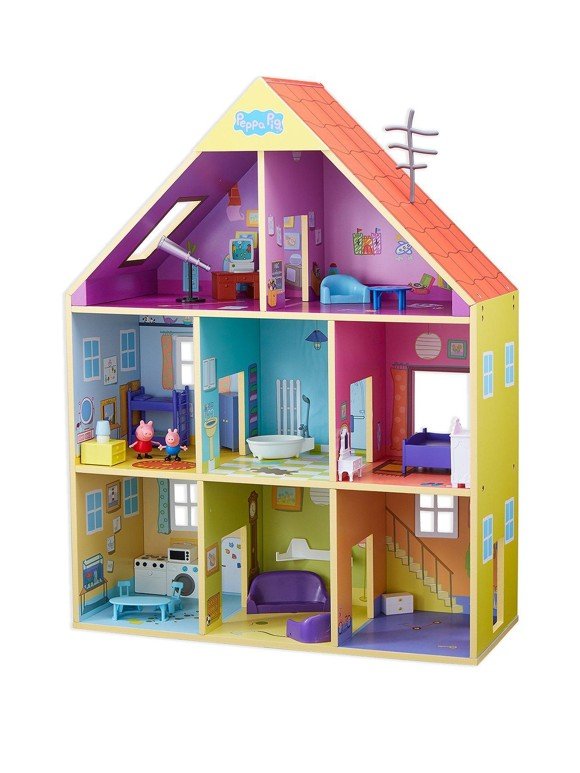 Peppa Pig-  DLX Wooden Playhouse (905-7040)