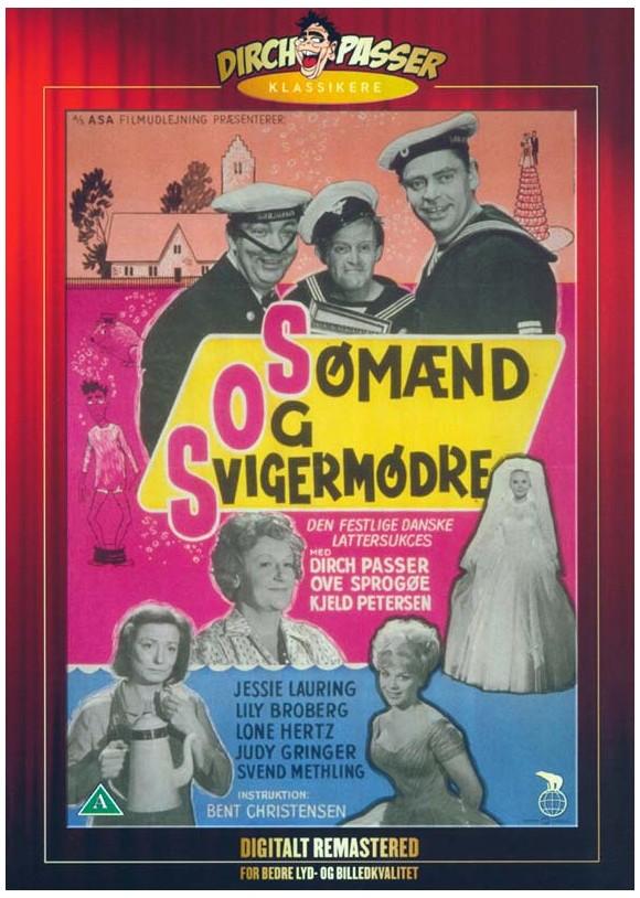 Sømænd og Svigermødre - DVD