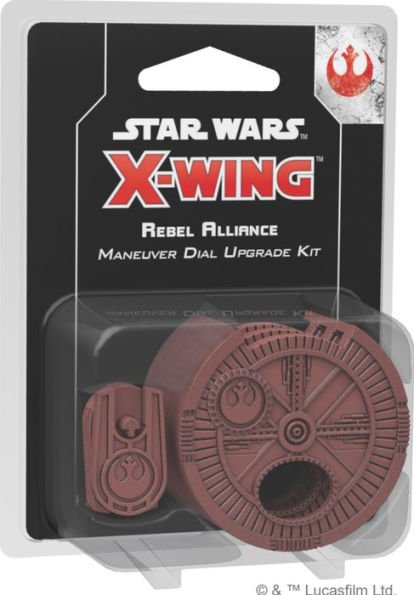 Star Wars - X-Wing - 2nd Edition - Rebel Alliance - Manual Dial Up