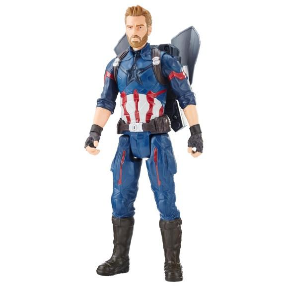 "Avengers - 12"" Titan Hero - Captain America (E0607)"