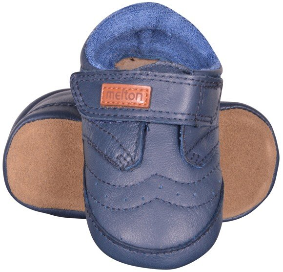Melton - Leather Shoe - Velcro