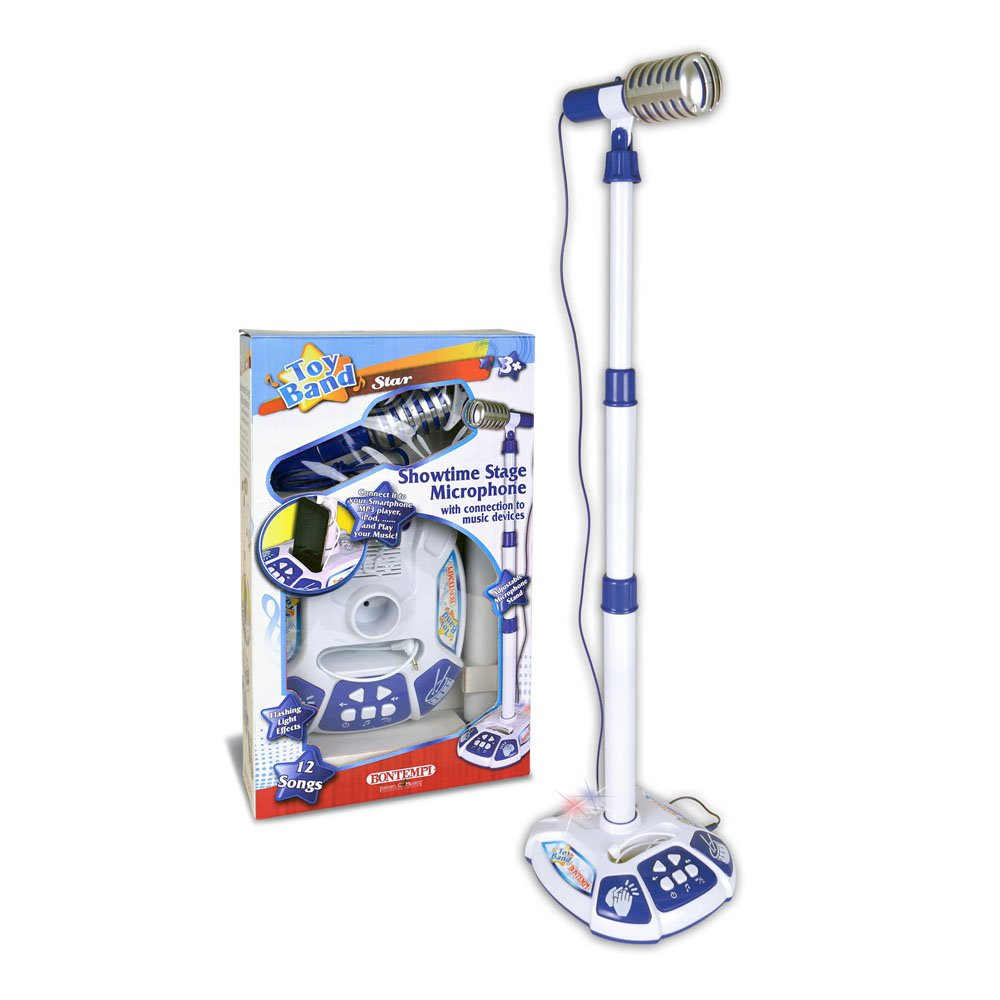 Bontempi - Microphone with stand (401042)