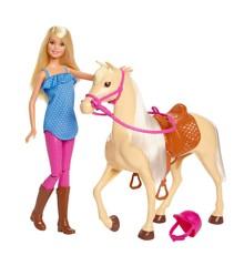 Barbie - Hest og Rytter (FXH13)