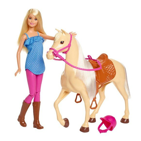 Barbie - Horse and Rider (FXH13)