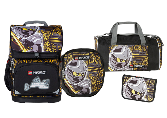 LEGO Ninjago Cole - Optimo School Bag Set (20045-1714)