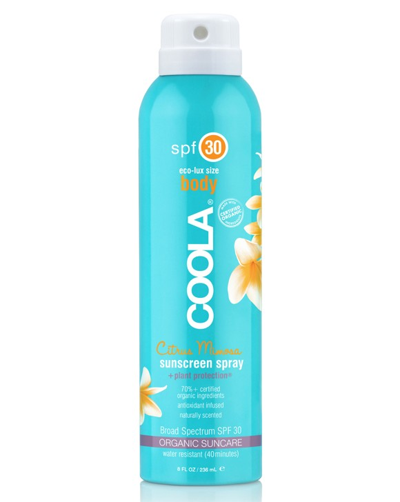 Coola - Sport Continuous Spray SPF30 Citrus Mimosa 236 ml