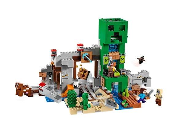 LEGO - Minecraft - The Creeper Mine (21155)