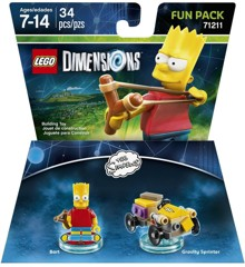 LEGO Dimensions: Fun Pack - Bart (Simpsons)
