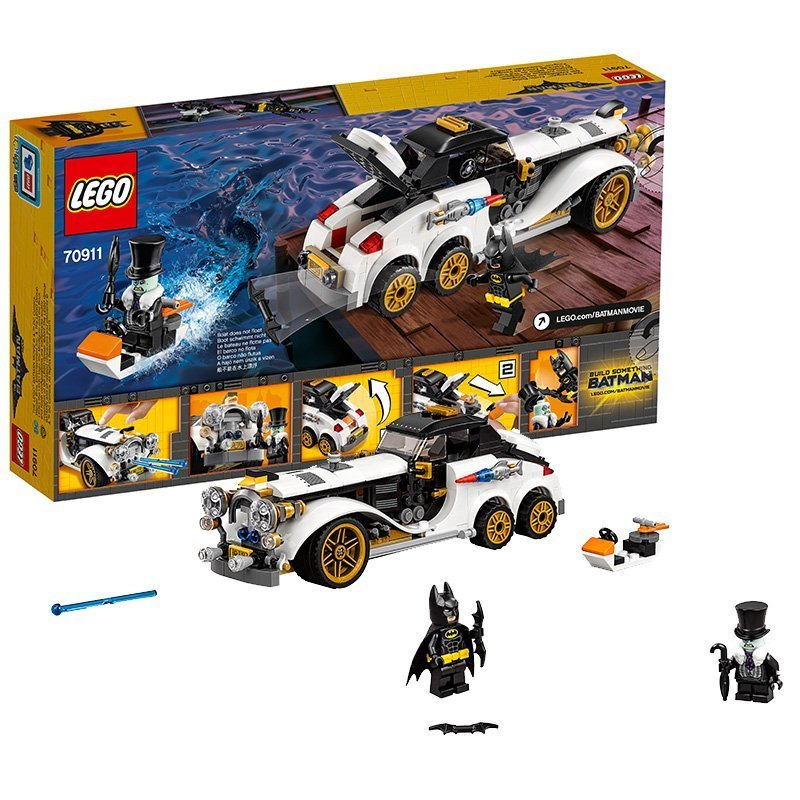 Buy Lego Batman Movie Penguin Arctic Roller 70911